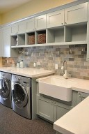 Cute Laundry Room Storage Shelves Ideas To Consider14