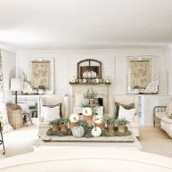 Excellent Fall Decorating Ideas For Home With Farmhouse Style35