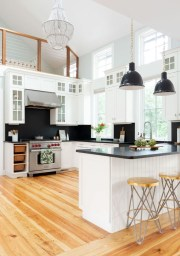 Incredible Black And White Kitchen Ideas To Try26