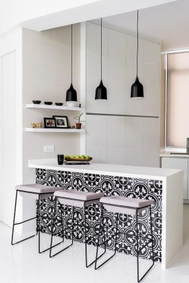 Incredible Black And White Kitchen Ideas To Try34