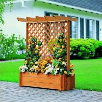 Pretty Privacy Fence Planter Boxes Ideas To Try24