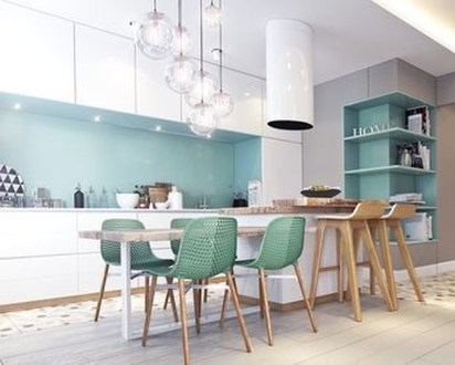 Unordinary Kitchen Colors Design Ideas That Looks Cool31