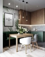 Wonderful Contemporary Dining Room Decorating Ideas To Try23