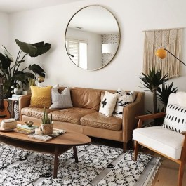 Awesome Living Room Mirrors Design Ideas That Will Admire You29