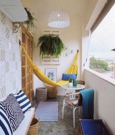 Brilliant Closed Balcony Design Ideas To Enjoy In All Weather Conditions18