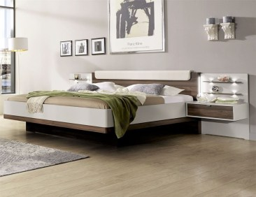 Casual Contemporary Floating Bed Design Ideas For You34