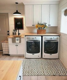 Charming Small Laundry Room Design Ideas For You06