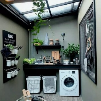 Charming Small Laundry Room Design Ideas For You08