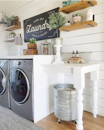 Charming Small Laundry Room Design Ideas For You41