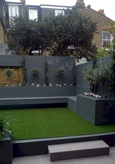 Chic Small Courtyard Garden Design Ideas For You41