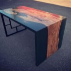 Classy Resin Wood Table Ideas For Your Furniture05