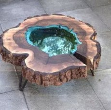 Classy Resin Wood Table Ideas For Your Furniture24