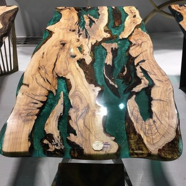 Classy Resin Wood Table Ideas For Your Furniture26