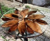 Classy Resin Wood Table Ideas For Your Furniture37