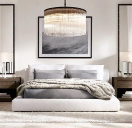 Cute Chandeliers Decoration Ideas For Your Bedroom20