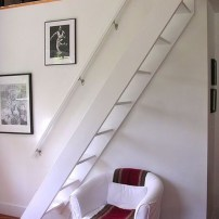 Incredible Stairs Design Ideas For The Attic To Try19