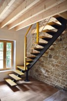 Incredible Stairs Design Ideas For The Attic To Try20