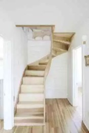 Incredible Stairs Design Ideas For The Attic To Try24