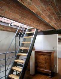 Incredible Stairs Design Ideas For The Attic To Try25