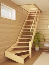 Incredible Stairs Design Ideas For The Attic To Try29
