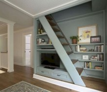 Incredible Stairs Design Ideas For The Attic To Try42