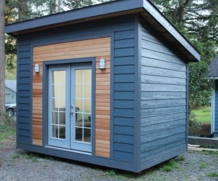 Incredible Studio Shed Designs Ideas For Your Backyard02
