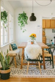 Unordinary Dining Room Design Ideas With Bohemian Style05