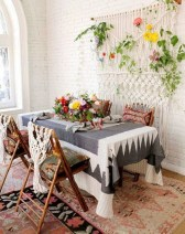 Unordinary Dining Room Design Ideas With Bohemian Style09