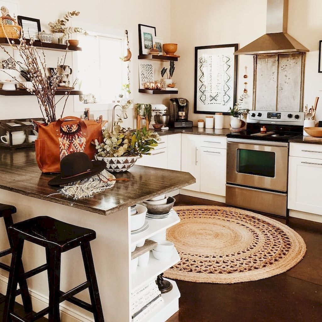 Unusual Bohemian Kitchen Decorations Ideas To Try29