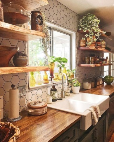 Unusual Bohemian Kitchen Decorations Ideas To Try31