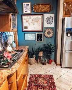 Unusual Bohemian Kitchen Decorations Ideas To Try34