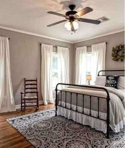 Wonderful Bedrooms Design Ideas With Vintage Touch That Will Thrill You39