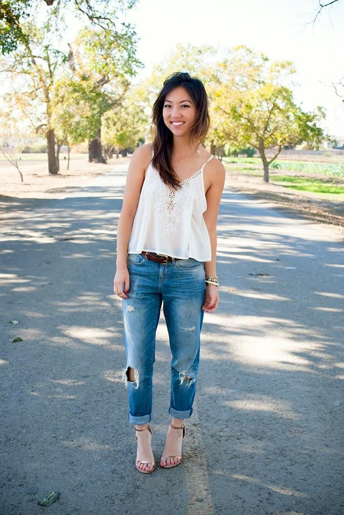 Comfort In Boyfriend Jeans Trend Envy