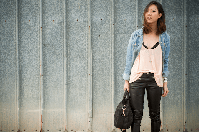DENIM AND LEATHER CASUAL EDGE – TREND ENVY