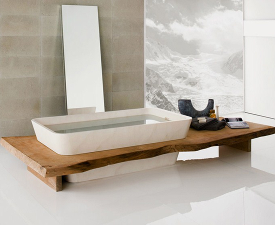 Neutra, la naturaleza en el baño