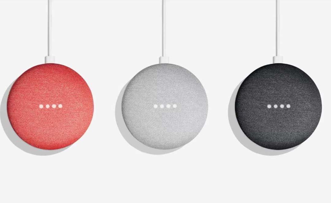 Asistente Google Home Mini