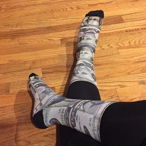 Converse Money Crew Socks - 1 of 3