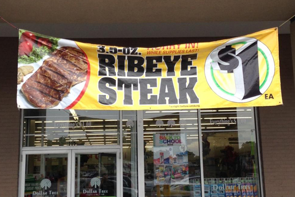 60 Second Review 1 Ribeye Steak From Dollar Tree
