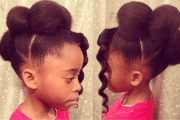 5 cute hairstyles black girls