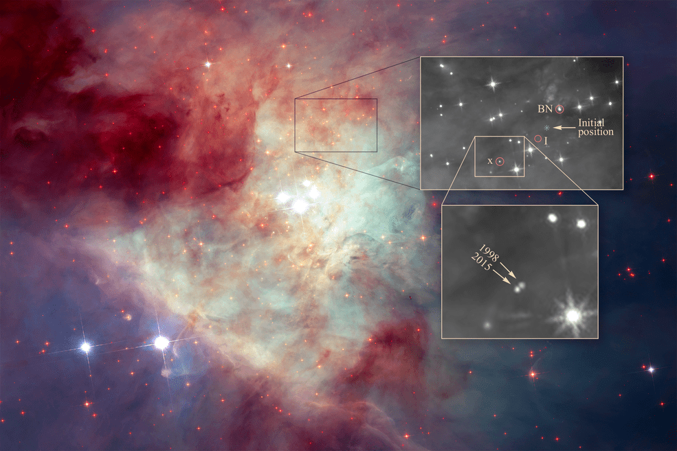 Great Escape: Hubble Finds Supermassive Black Hole Breaking from Its Own Galaxy