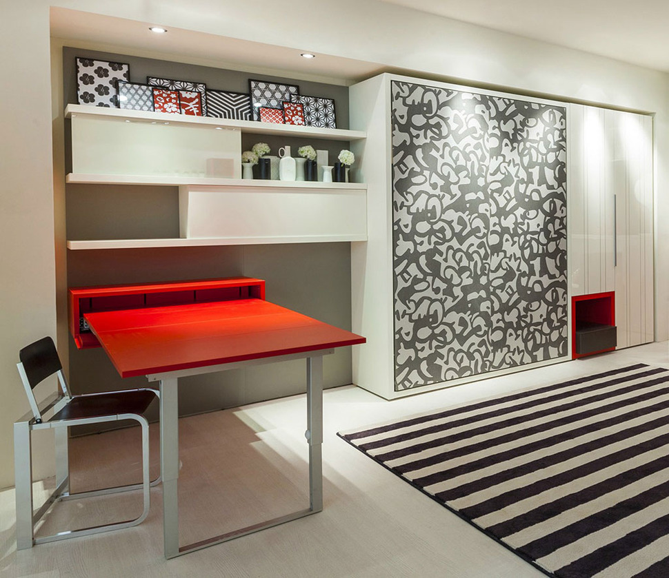 Teen Transformable Modular Furniture from Clei