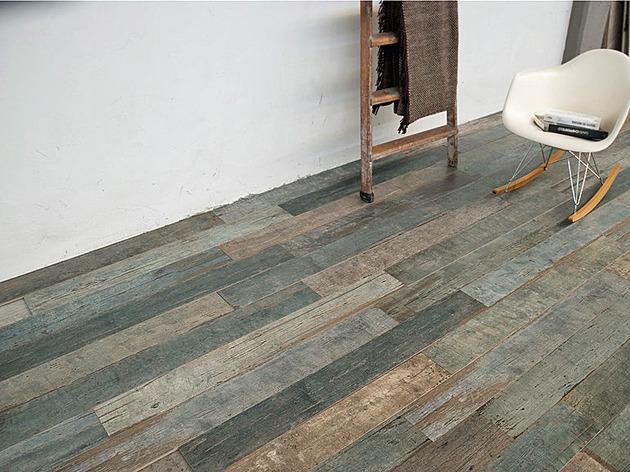 Amazing Distressed Wood Looking Tile
