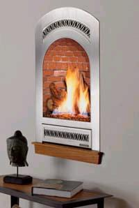 KITCHEN GAS FIREPLACE  Fireplaces