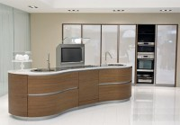 Pedini Kitchen - new ergonomic, curvy Dune kitchen