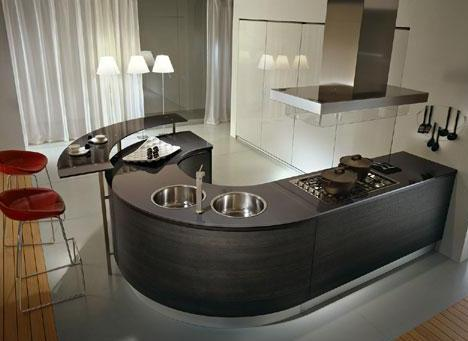 Artika and Integra Round Kitchens from Pedini  the trend