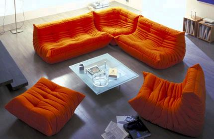 the mah jong sofa from ligne roset 2 piece cover t cushion togo by - amazingly cozy
