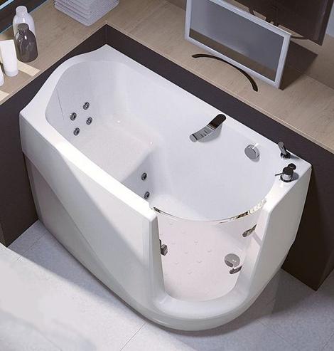 Sit In Bathtub