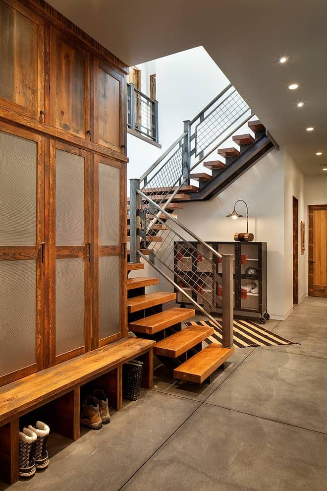 Modern Ski Chalet with Beautiful Rustic Interiors  Modern House Designs