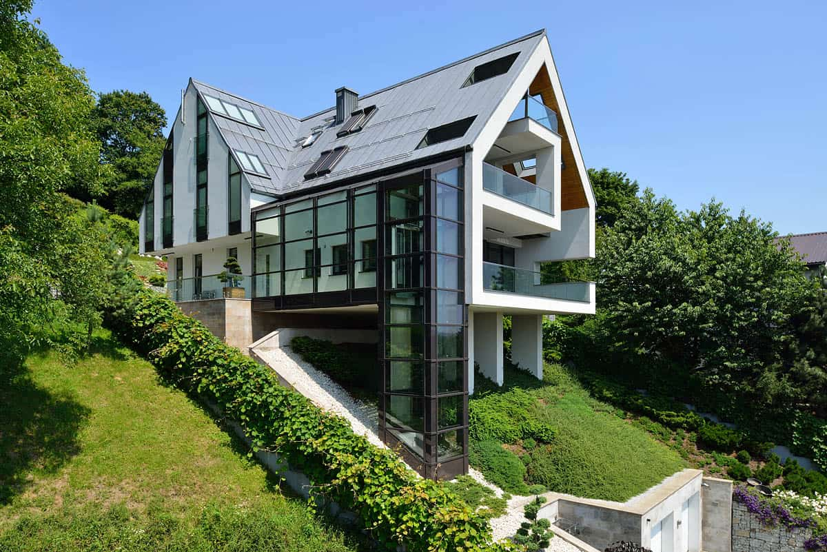 House Plans On A Steep Slope Plans Home Plans Ideas Picture