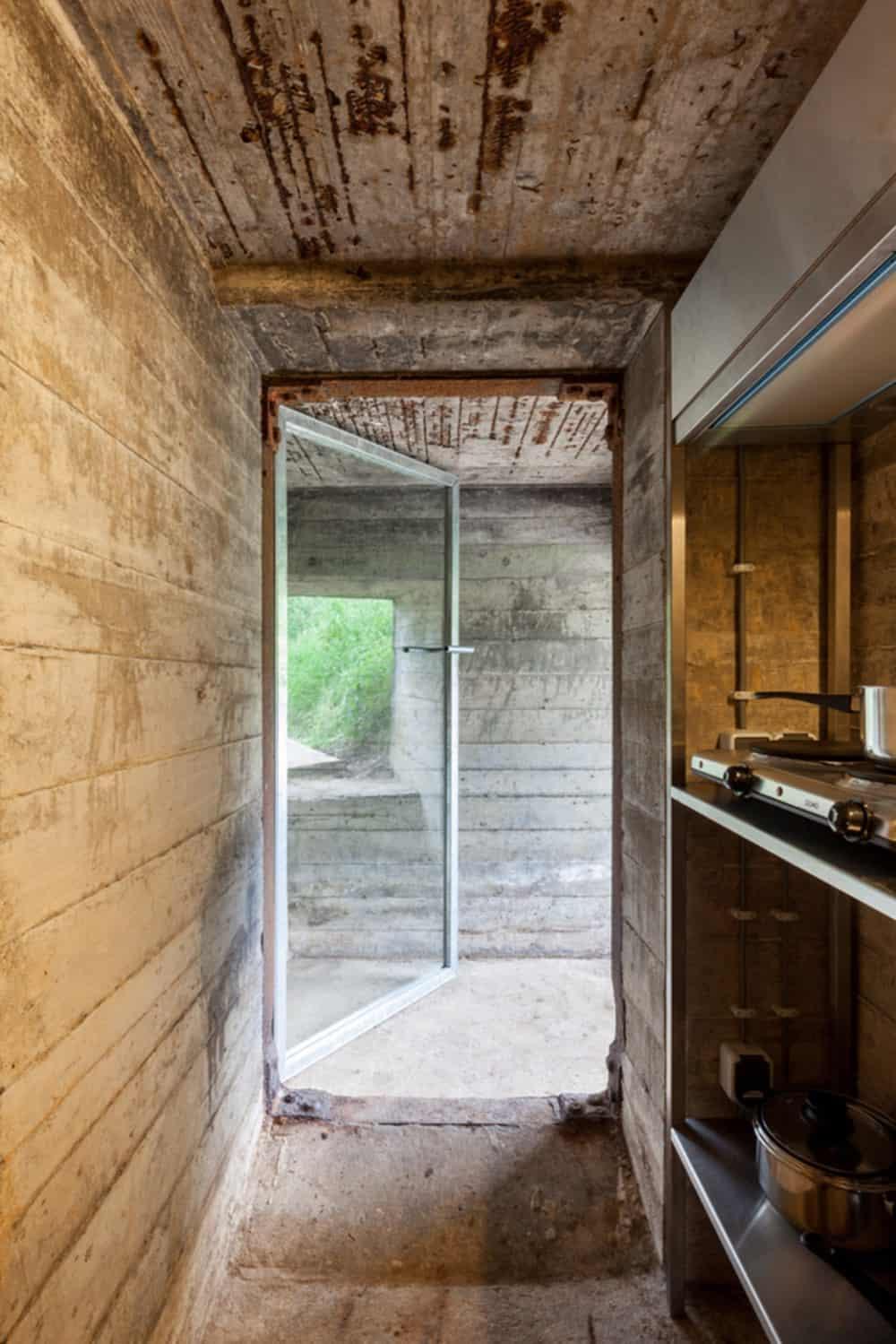 Tiny War Bunker Makes Unique Underground Home  Modern